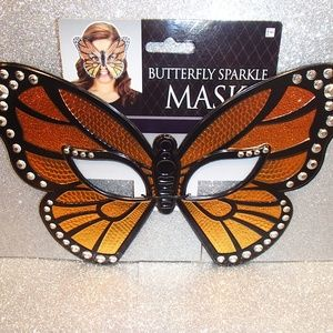Other - Mask: Butterfly Sparkle Mask 1PC - NEW